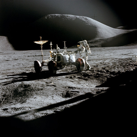 Real Life: Apollo 15's Lunar Rover
