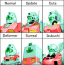 Gundam: The many faces of the GM