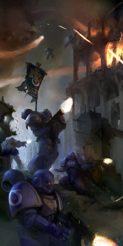 Warhammer 40k: Chapter 39 of the Shinji/WH40k fanfic is up