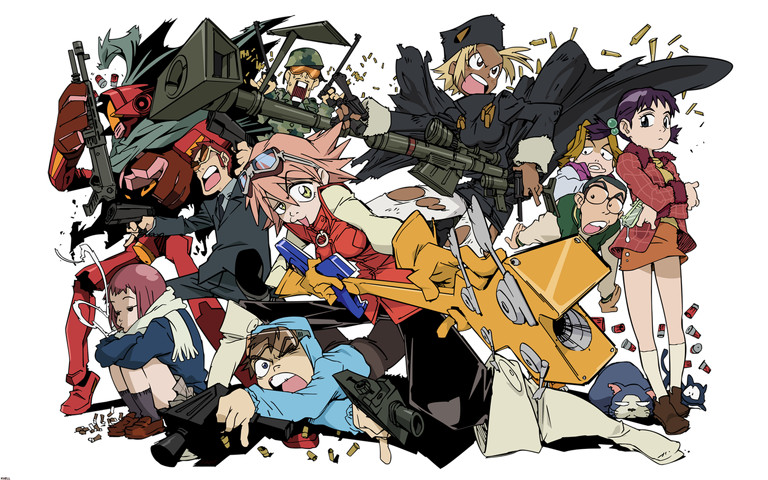 FLCL: I should watch this again