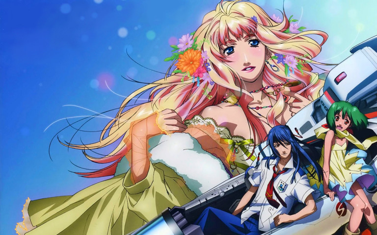 Macross: I think I have a new desktop background