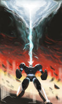 Miscellaneous: Looks kind of Mazinger inspired