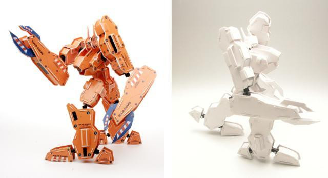 Miscellaneous: Papercraft Mecha never looked so good