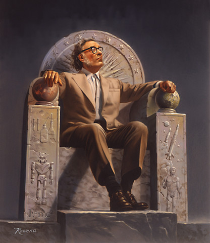 Miscellaneous: Isaac Asimov, one awesome motherfucker