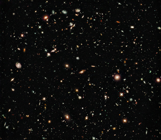 Real Life: Hubble's Deepest View of Universe Unveils Never-Before-Seen Galaxies