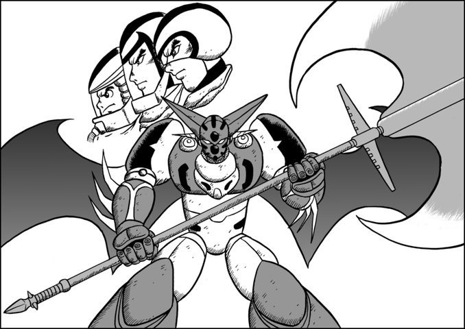 Getter Robo: Best pilot trio ever