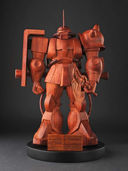 Gundam: This wooden Zaku statue is $1000
