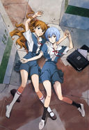 Evangelion: Asuka is number three of the Holy Quadruple of Goddamnit Japans