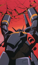 Gunbuster: Crushing never works on the title robot