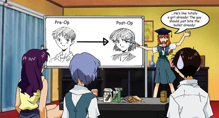 Evangelion: Ugh, this is also someone's fetish