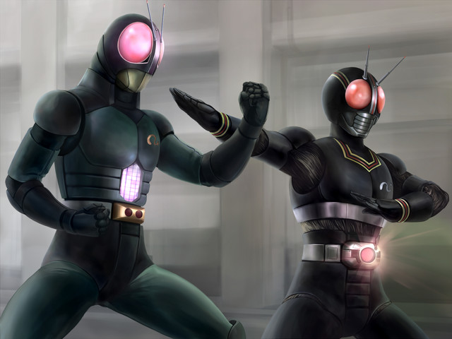 Kamen Rider: Black and Black RX