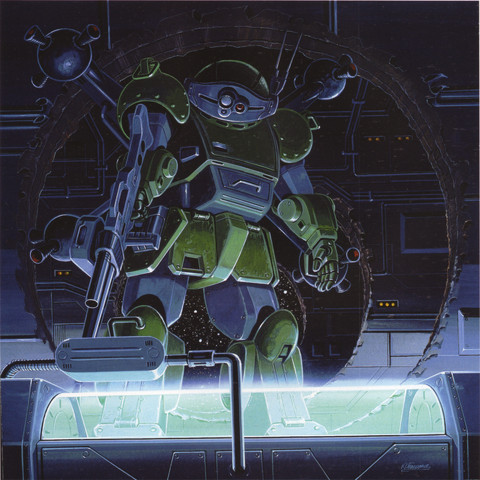 Votoms: Scope Dogs are awesome