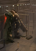 Miscellaneous: Mech Bay by Jim Hatama