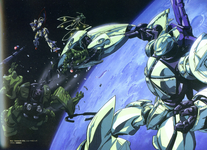 Gundam: The first 25 episodes of the remastered rips of Turn-A are now up