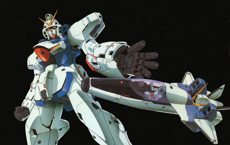 Gundam: You'd think the head would just be dead weight for the fighter