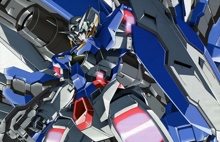 Gundam: I wonder if 00 was a failure, there isn't much art from it out there