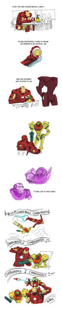 Iron Man, Metroid: A match made in heaven?