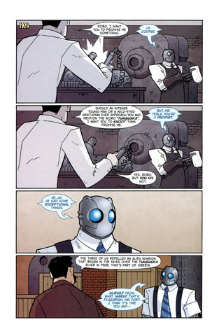Atomic Robo: Because this epic comic deserves more mentioning