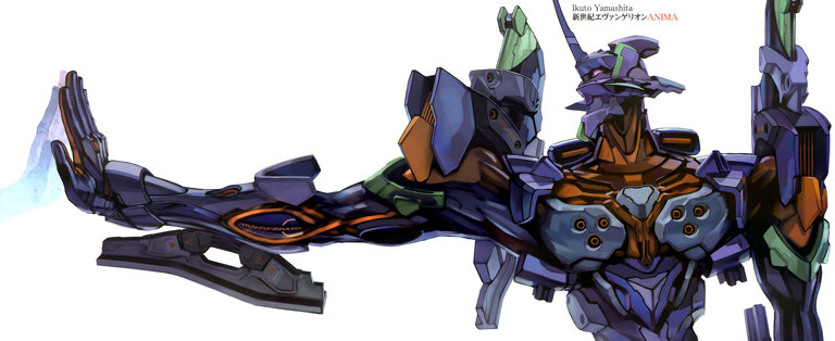 Evangelion: More of that wonderful Eva-01 from Anima