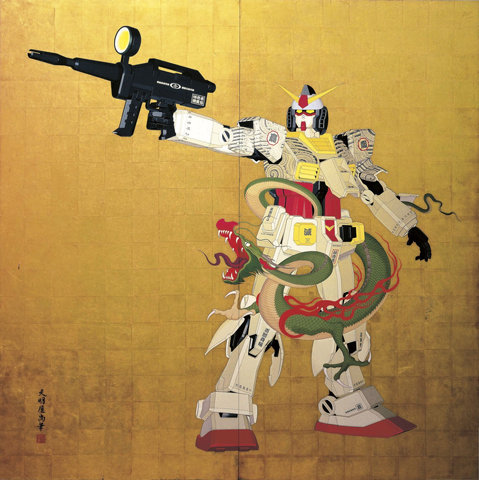 "Gundam: An ancient Chinese philosopher once said, ""Fuck you, I have a giant robot"""