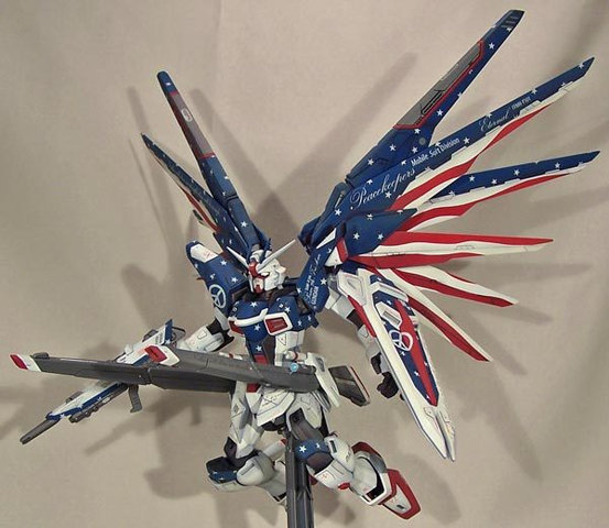 Gundam: Vote Republican today, and I'm going to kick all your asses; twice, if you vote Tea Party