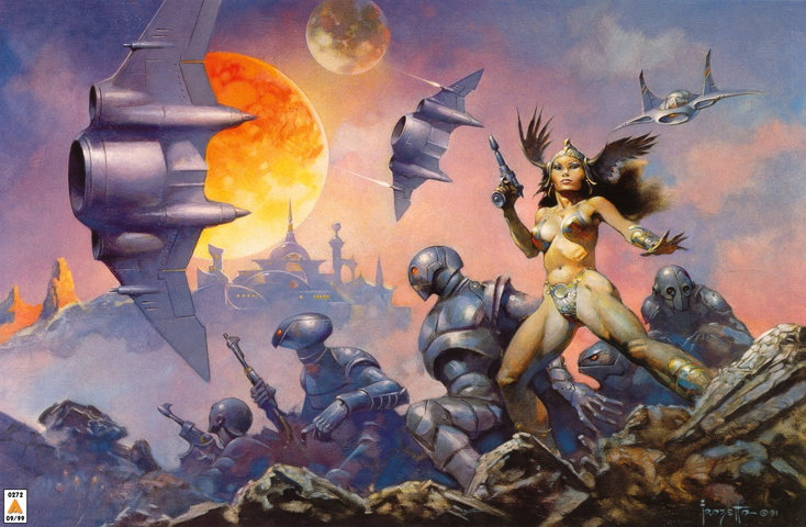Battlestar Galactica: More of that awesome art