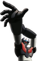Mazinger: Totally giant poster material