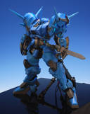 Gundam: I dub this Gouf/Kämpfer mashup: Captain Rape
