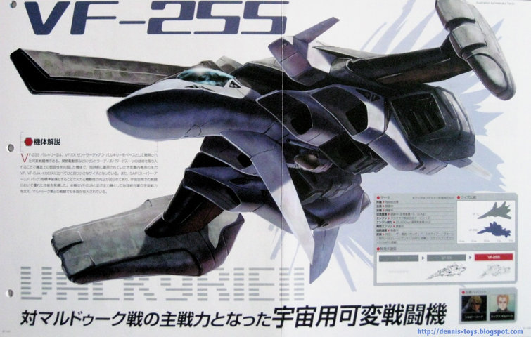 Macross: More of that strange VF from Macross II