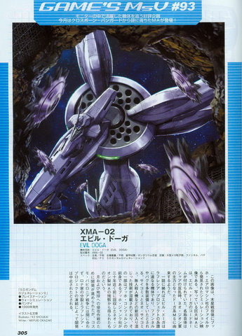 Gundam: Evil Doga doesn't look evil, its just purple