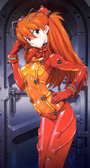 Evangelion: You know, I don't like the test suit, it ruins the fan service aspect of the first one