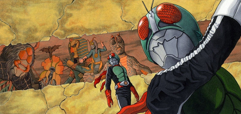 Kamen Rider: Justice, now with 15% more ass kicking