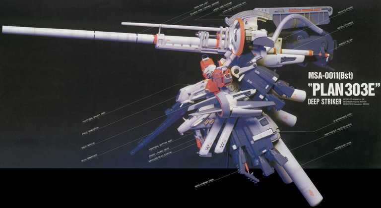 Gundam: The ultimate weapon… at least until they make a bigger weapon