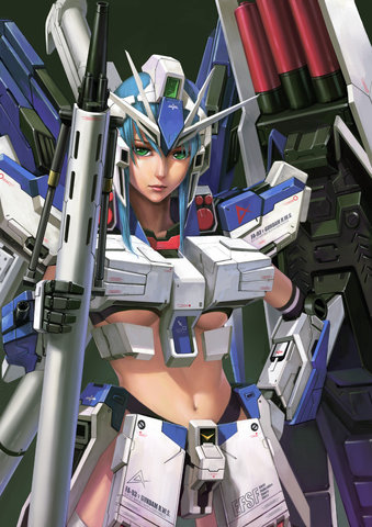 Gundam: Man, imagine if cosplayers looked like this
