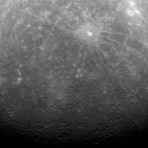 Real Life: MESSENGER: First Image Ever Obtained from Mercury Orbit