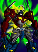 Gurren Lagann, Transformers: You've run this organization right into the fucking ground!