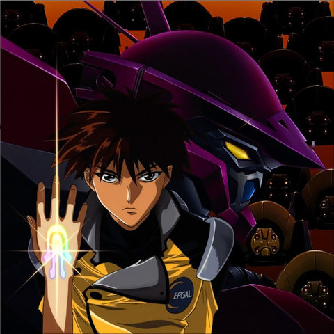 Nadesico: MY FIST GLOWS WITH AN AWESOME POWER
