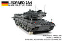 Lego: Motorized Leopard 2A4 Main Battle Tank