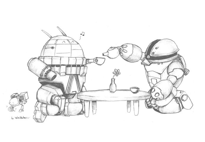 Battletech, Gundam: Oh God, its so cute