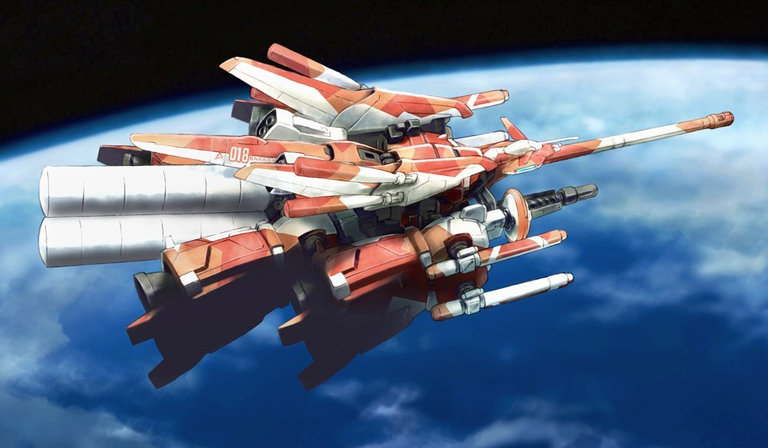 Gundam: Man, this would make an awesome ship for a shmup