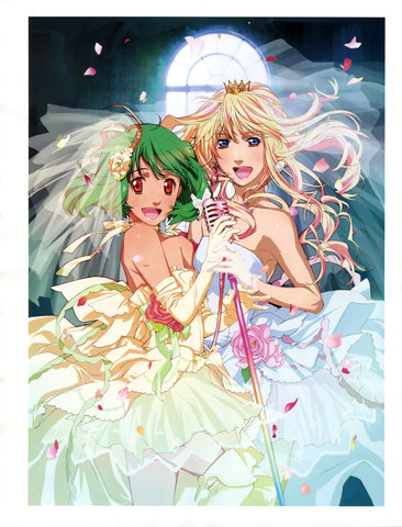 Macross: Because we all know this is the OTP