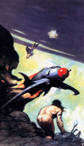 Miscellaneous: More awesome Frank Frazetta stuff
