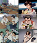 Evangelion: WTF is the anime on the left?