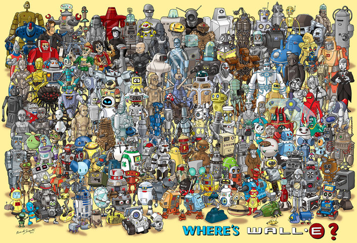 Miscellaneous: Wheres Wall-E