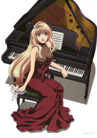 Macross: Do they even HAVE pianos in the future?