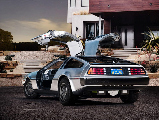 Real Life: Do androids dream of electric DeLoreans?