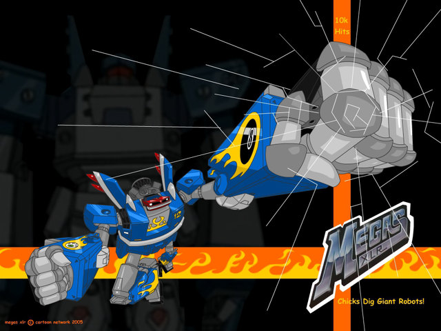 Megas XLR: Silly rabbit, giant robots are for kids!