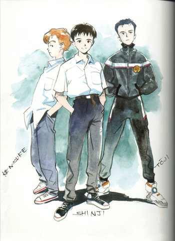 Evangelion: The Three Stooges