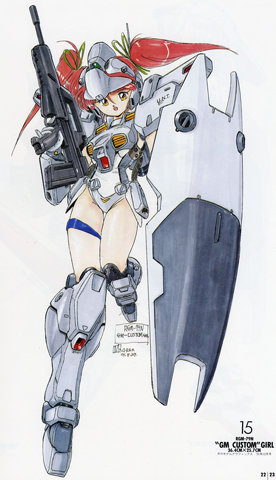 Gundam: Well, we knew I'd eventually post something like this