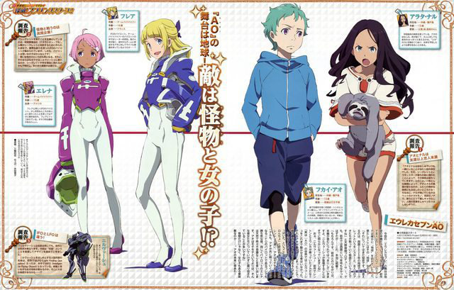 Eureka Seven: More of that new show